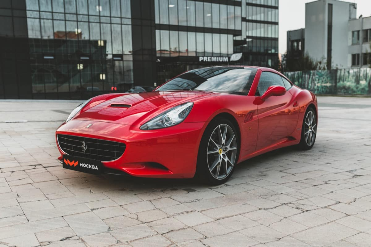 Тюнинг ferrari california
